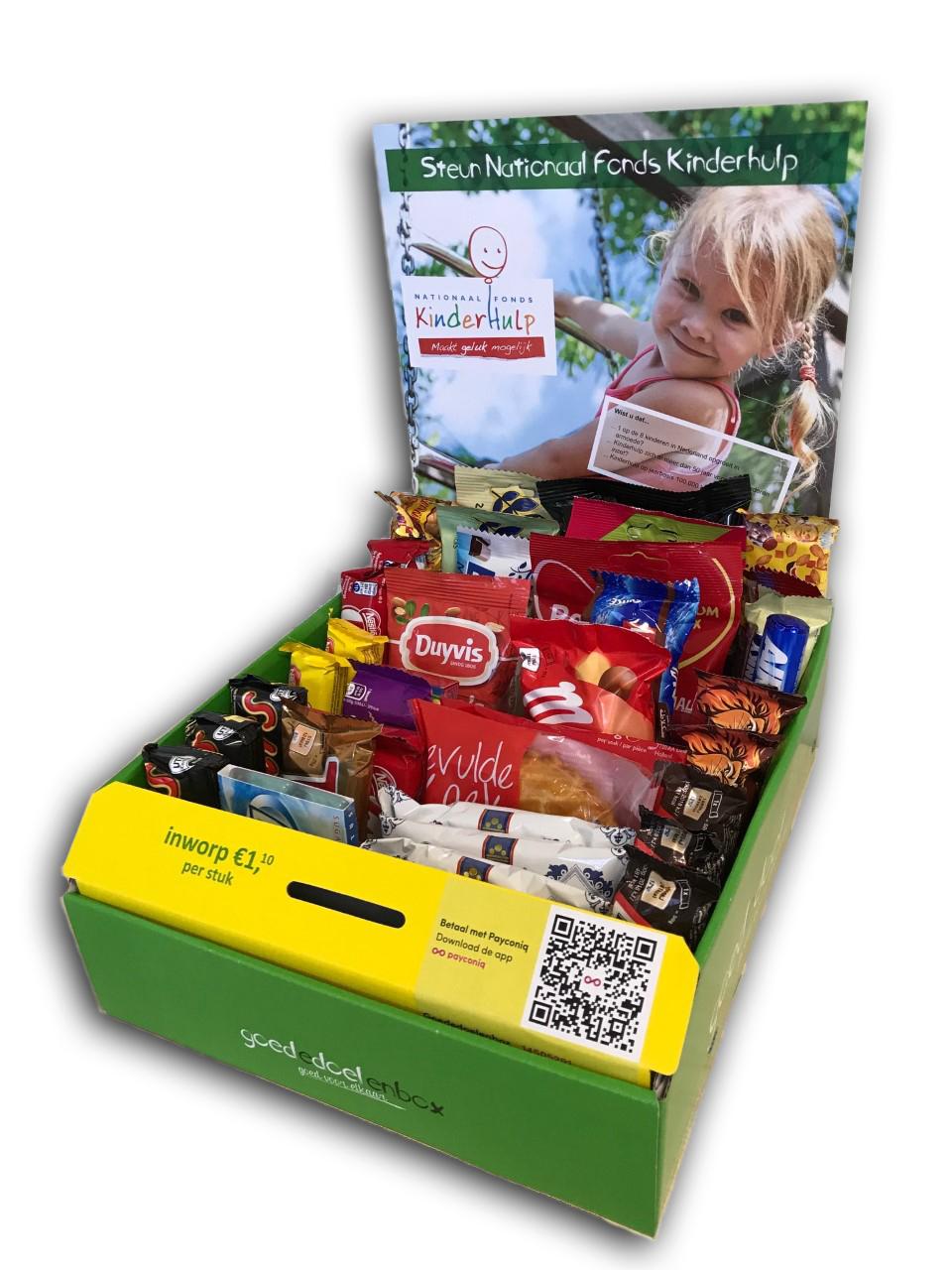 Goededoelenbox Voedselbank